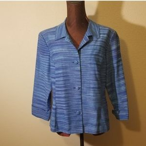 3for$20 Peck and peck blazer blue 12